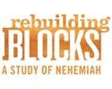 Picture of Nehemiah Rebuilding Blocks