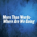Picture of More Than Words - Where Are We Going ?