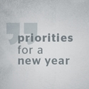 Picture of Priorities for a New Year